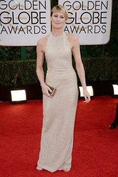 The Golden Globes: Robin Wright, Reem Acra, Dana Rebecca
