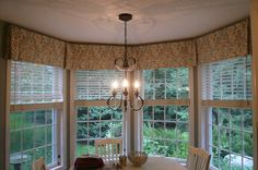 valances for kitchen windows | Bay Window Valance | Kitchen