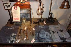 Vintage scissors, lamps, etc...