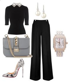 In My Closet by arta13 on Polyvore featuring L.K.Bennett, Christian Louboutin, Belpearl, Valentino and Michele