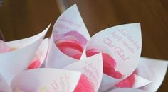 Petal Toss Cones for Bride and Groom ExitSet of by SandysSignature, $15.00
