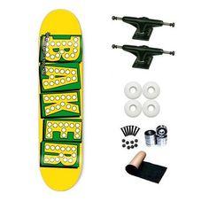 Baker Yellow Bake Shake Junt 7.75 Skateboard Deck Complete by Baker. $68.99. SL Abec 3 Bearings. Shorties Hardware, Randel Grip Tape. Brand New Baker Skateboard Deck 7.75 x 31.5. Frontage Trucks. Yellow Jacket Wheels 53mm. Brand New Top Quality Baker Skateboard Complete