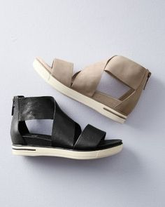 This crisscross sandal crosses over with ease from casual to chic, from season to season. A fast and forever favorite, with supple style on top and sporty comfort below.