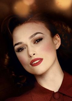 Kiera Knightly, The Edge of Love. Wedding Make-up Inspiration.