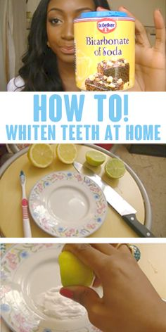 How To: Whiten Teeth At Home