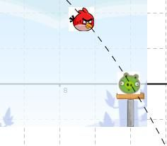 Angry Birds - Activities - Finding Quadratics based on two points
