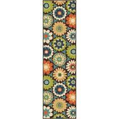 Indoor/ Outdoor Promise Monteray Multi Rug (2'3 x 8') - Overstock Shopping - Great Deals on Carolina Weavers Runner Rugs