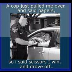 Police Humor... ;-) This might be funny to have on the van