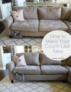 Exceptionnel Sweet Verbena: How To Make Your Couch Look Like New : A Tutorial