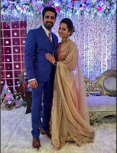 On-Screen Devar-Bhabhi To Real Life Lovers: TV Stars Avinash Sachdev And Shalmalee Desai Get Married - BollywoodShaadis.com