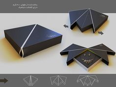 Schmuck-Schaltulle von Crown Industriedesign, Schmuckdesign, Verpackung / Mohsen Tafazoly auf behance.net