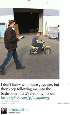 Misha's twitter alone has made me a Misha fangirl