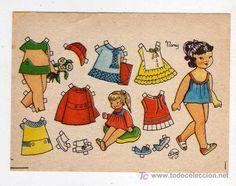 Mini Mariquita Recortable. Nancy.