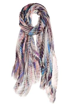 Dripping Weave Modal Scarf | Calypso St. Barth