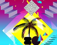 """Check out this @Behance project: """"80's fever"""" https://www.behance.net/gallery/22420663/80s-fever"""