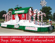 create an impact for your organization in the next parade by using professional grade float christmas float ideaschristmas - Christmas Float Decorations