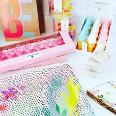 """24 Likes, 3 Comments - Neha (@the_sunshine_store) on Instagram: """"The best bit of the job! Unpacking new deliveries ready for the shop! Love these pretty summer…"""""""