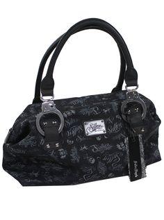 """Women's """"Handcuff"""" Handbag by Sullen Clothing (Black) #InkedShop #handbag #sullen #bag"""