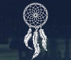 Hey, I found this really awesome Etsy listing at https://www.etsy.com/listing/204185471/boho-style-dream-catcher-car-decal-car