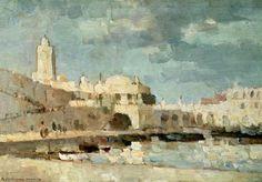 Albert Lebourg (1849-1928) « Le Port d'Alger » 1876