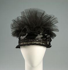 ~Cocktail Cloche  1923  The Metropolitan Museum of Art~ (I call it my 'Ernie' hat, but seriously I think this is a very attractive hat.)