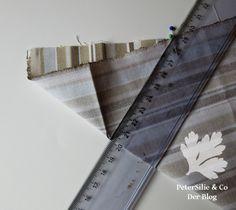 Die perfekte Tischtuchecke mit verschieden breiten Nahtzugaben – PeterSilie & Co Fitbit Flex, Baby Steps, Step By Step Instructions, Random Stuff, Tutorials, Parsley