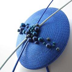 #blue #modern #design with #perals #toque #bluedesign #simpledesign #expose