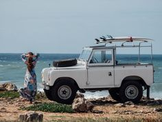 The car - what else This Vintage Landy Adventuremobile Will Blow You Away. Perfect in every way.