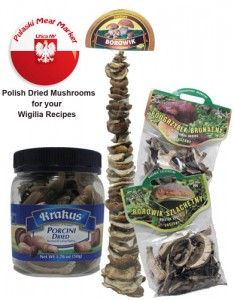 Polish Dried Mushrooms recipes