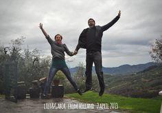 lili & Gabor 1aprile2013 jump for Forestaria