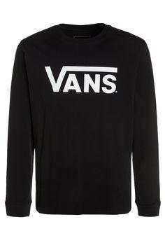 Haz clic para ver los detalles. Envíos gratis a toda España. Vans CLASSIC Camiseta  manga larga black white  Vans CLASSIC Camiseta manga larga ... fd65b01bc36