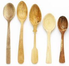 Wooden spoons by Nic Webb.