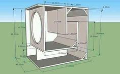 Rcf sub tekening 2 Diy Subwoofer, 15 Inch Subwoofer Box, Subwoofer Box Design, Subwoofer Speaker, Audio Amplifier, Audiophile, Custom Speaker Boxes, Speaker Box Design, Audio Box
