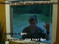 LMAO omg WAY creepy when taken out of context. Duder is a Spy #ChrisAllen #LittleWhiteLie #StarKid www.beautifulstuff.us - An interactive fan community and StarKid fan site featuring games, quizzes, information, videos, photos, and much more.