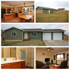 Ranch style home on large corner lot! This home offers an open layout, kitchen with ample cabinet space, oversized 2 car garage and 6ft privacy fenced back yard! Close to Ellsworth AFB and easy access to I90!  115 Maxwell Dr. Box Elder, SD 57719 4 bed | 2 bath | 2 car carage | 2,016 sq ft MLS # 129823 | $189,900 | Jeremy Kahler (605) 381-7500  Take the virtual tour: https://youtu.be/KfaLax0QngY #TheKahlerTeam #RapidCity #BlackHills #RapidCityRealEstate #KWBH #ForSale