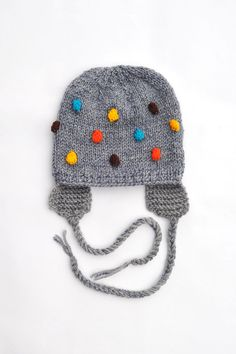 Knitted Baby Hat, via Etsy.