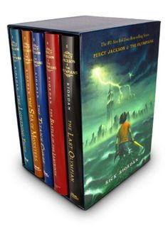 Percy Jackson and The Olympians by Rick Riordan!