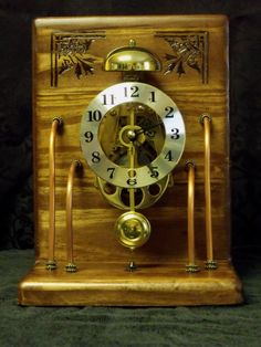 SteamPunk Clock by KyoteArt on Etsy by bemusedheart