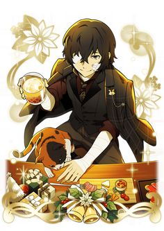 Bungou Stray Dogs Wallpaper, Dog Wallpaper, Dazai Bungou Stray Dogs, Stray Dogs Anime, Otaku Anime, Anime Manga, Dog Icon, Animes On, Dazai Osamu