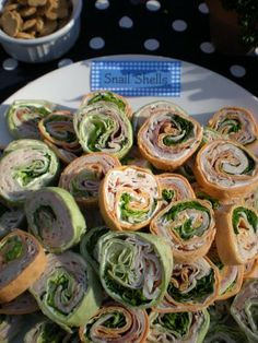 Hmmm, what about these for a woodland fairy themed party food?  I like the butterfly pasta salad too! Fairy Food, Food Themes, Party Themes, Food Ideas, Woodland Party, Woodland Theme, Butterfly Birthday Party, Fairy Birthday Party, 4th Birthday Parties