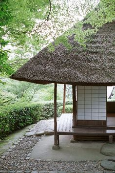 Japanese tea house - this looks so tranqual :)