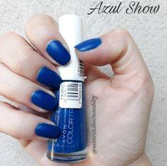 Azul Show Avon Color Trend (Matte)