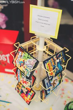 Have your guests sign postcards as your guest book | Offbeat Bride