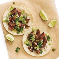Cinco de Mayo Recipes: Suadero Tacos with Serrano-Cilantro Salsa