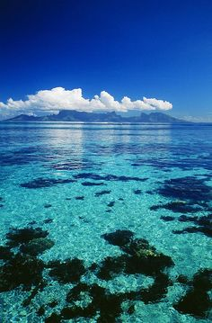 View on Moorea, French Polynesia
