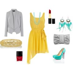 if only i could wear that yellow...