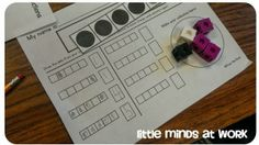 Little Minds at Work: Early Number Sense {freebies}