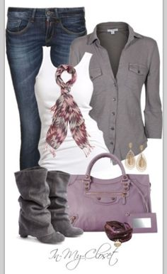 Colorful scarves and boots make every outfit more fun