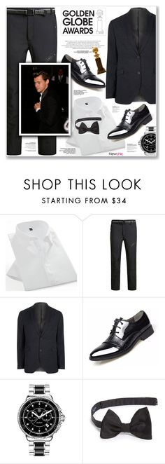 """LOVE NEWCHIC"" by nanawidia ❤ liked on Polyvore featuring River Island, James Bond 007, TAG Heuer, Lanvin, men's fashion, menswear, Winter, polyvoreeditorial, menfashion and newchic"