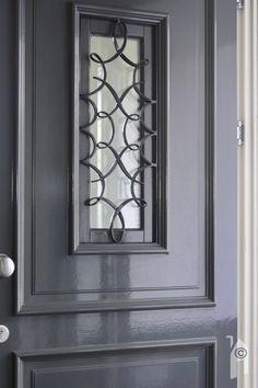 Detail van de Hebo voordeur